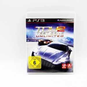 Gra na PS3 TDU 2 Test Drive...