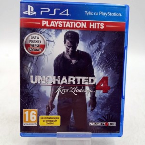 Gra PS4 Uncharted 4 Kres...